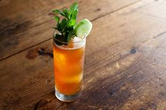 How to Make a Pimm's Cup. From: @Food52