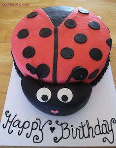 Ladybug cake I want to make for Janna's birthday