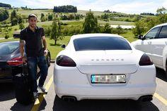 Auch Ricardo Rodriguez' Porsche vom letzten Sommer bleibt dieses Mal in der Garage.