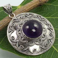 If you are looking for Genuine Jewellery Gift which is unusual and not huge, this fits the bill! Amethyst Pendant, Amethyst Gemstone, Birthstone Jewelry, Jewelry Gifts, Jewellery, Sterling Silver Pendants, Jewelry Stores, Birthstones, Silver Rings