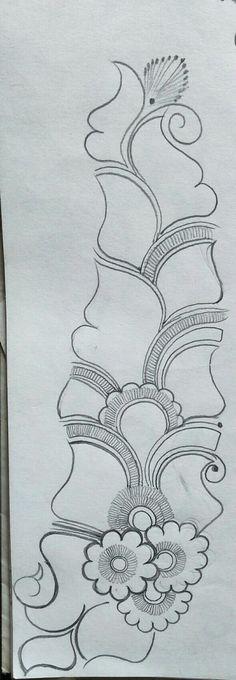Indian Henna Designs, Henna Tattoo Designs Simple, Simple Arabic Mehndi Designs, Back Hand Mehndi Designs, Mehndi Designs Book, Stylish Mehndi Designs, Mehndi Designs 2018, Mehndi Design Pictures, Mehndi Designs For Beginners