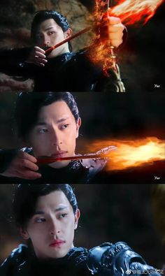 Xu Feng as Demon King. Asian Actors, Korean Actors, Ashes Love, Love Cast, Chines Drama, Best Dramas, Castle In The Sky, Scarlet Heart, Fantasy Fiction
