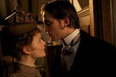 Robert Pattinson, as Georges Duroy