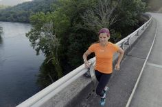 Asheville mom Leslie Sloan runs marathon for nonprofit