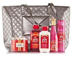 The Bath and Body Works Joyful Favorites 2015 V.I.P Tote