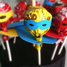 superhero birthday party goodie favors