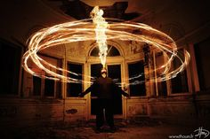 Magical Fire Photography by Tom Lacoste