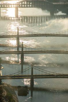Pittsburgh bridges Dave Di Cello