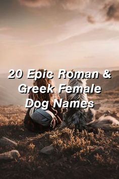Baby Overalls Speak: 20 Epic Roman & Greek Female Dog Names Puppy Training Tips, Training Your Dog, Leash Training, Potty Training, Best Dog Breeds, Best Dogs, Whelping Puppies, Deaf Dog, Baby Overalls