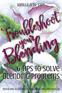 Troubleshooting: 6 Tips to Solve Copic Marker Blending Problems