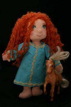 stitches for joy: doll Merida