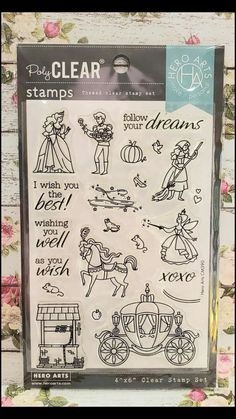 Piping Templates, Princess Cookies, Wish You Well, Card Making Supplies, Hero Arts, Clear Stamps, Happy Planner, Planner Stickers, Cardmaking