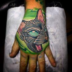 Cat tattoo Cat Tattoo, Tattoos, Cats, Animals, Collection, Medellin Colombia, Tatuajes, Gatos, Animales