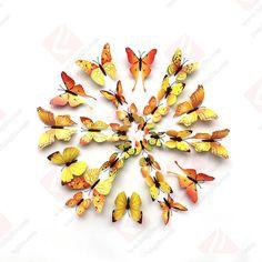 Window Mural, Fridge Decor, Wall Stickers Wallpaper, 3d Butterfly Wall Stickers, Vinyl Art, Diy Wall, Craft Gifts, Creative, Crafts