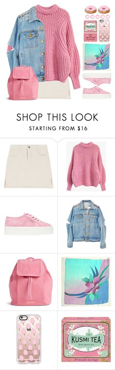 """""""Strawberry Donut"""" by doga1 ❤ liked on Polyvore featuring Vera Bradley, Casetify and Kusmi Tea"""