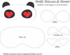 Molde-M%C3%A1scara-de-Dormir-Panda-Molde-para-Feltro-EVA-e-Artesanato.png (942×745)