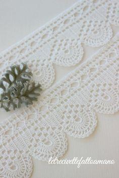 How to Make Crochet Look Like Knitting (the Waistcoat Stitch) Crochet Tree, Crochet Mat, Crochet Dishcloths, Crochet Mandala, Crochet Doilies, Easy Crochet, Crochet Flowers, Crochet Blanket Edging, Crochet Borders