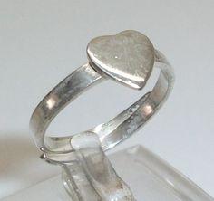 Herzring+in+925er+Silber++16+mm+Silberring+SR311+von+Atelier+Regina++auf+DaWanda.com