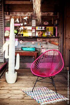 Clásicos del diseño industrial: Cómo decorar con la silla Acapulco