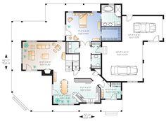 plano primer piso grandioso plano de casa