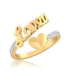 The Hubris Love U Diamond Ring