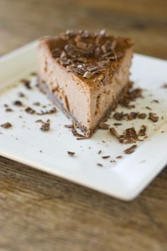 Delight Gluten Free Magazine | Recipes - Mocha Chip Cheesecake