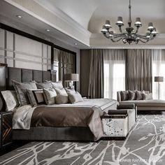 Grey with envy .... FR     #designerofluxury #ferrisrafaulidesign #ferrisrafaulifurniture #luxurylifestyle #luxuryarchitecture #glam#bedroomdesign #frdesign#frbuild#luxurybedroom