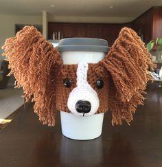 Papillon Mug Cozy Dog Mug Cozy Dog Mug Cozy Dog by HookedbyAngel
