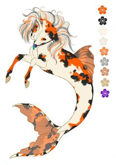 Dae Ref Sheet by eldwin-black on DeviantArt Sea Creatures Drawing, Mythical Creatures Art, Creature Drawings, Horse Drawings, Mythological Creatures, Magical Creatures, Fantasy Creatures, Animal Drawings, Wolf Drawings