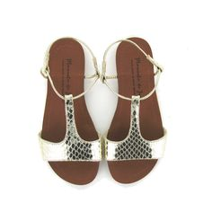 Kerala Sandal - Silvery Gold - Shoes - Accessories