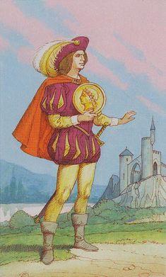 Page of Pentacles Tarot Card