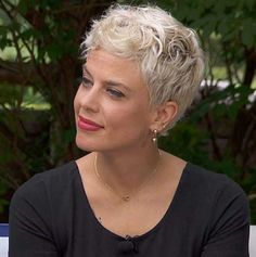 Short Hairstyle for Women Over 50 Source Pixie Haircut for Women Source Natural Grey Haircut for Women Over 50 Source Choppy Short Haircut for Women Source Short Blonde Pixie Hairstyle Source Modern and Short… Continue Reading → Hair Styles For Women Over 50, Short Hair Styles Easy, Short Hair Cuts For Women, Short Hairstyles For Women, Curly Hair Styles, Bob Hairstyles For Round Face, Short Hair Trends, Short Blonde Pixie, White Hair