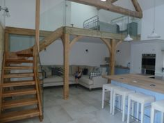 Our beautifully converted barn. Converted Barn, Loft, Bed, Furniture, Home Decor, Decoration Home, Stream Bed, Room Decor, Lofts