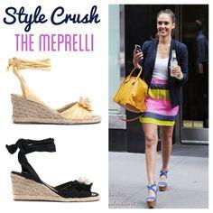 Jessica Alba style crush! Get the look: Meprelli by Django & Juliette