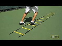 TENNIS DRILL: Quick Ladder Icky Shuffle Drill