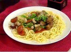 Galdino Saquarema  Revista: Receita de Espaguete Oriental