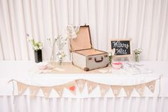 Love this gift table decoration   Copyright: SilverEdge Photography - Brisbane Wedding Photographers