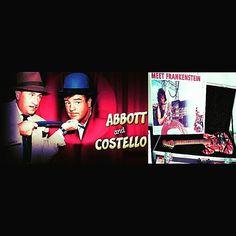 """ABBOTT AND COSTELLO MEET FRANKENSTEIN!"" #evh #eddievanhalen #alexvanhalen #diamonddave #davidleeroth #michaelanthony #Vintage #Klassik #Classic #Rock #Music #History #Frankenstein #Frankenstrat #guitar #AbbottAndCostelloMeetFrankenstein #Humor #Funny #vantastikhistory #Vantastik #VanHalen #vanhalenhistory"