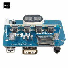 Nuovo 1 Pz DC3.3-TF FM USB In Formato MP3 Scheda di Decodifica LN4863 Dual Channel 3 W * 2 Modulo Amplificatore decodifica Audio Player 59X45mm