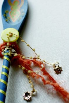 Summer Solstice Spoon Wand