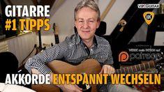 Akkorde entspannt wechseln - Gitarren Hacks #1 Tipps