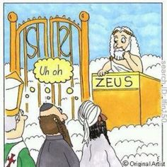 What if the Great Bouncer in the Sky is really Zeus?