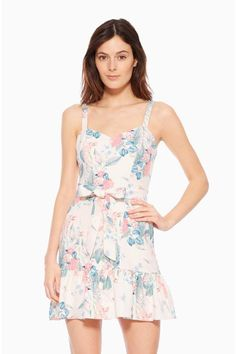 0c70e7d8270f Yuna Dress - Mellow Meadow Our Yuna Dress is chic from sun up to sundown.  The figure-flattering silhouette features a delicate floral print