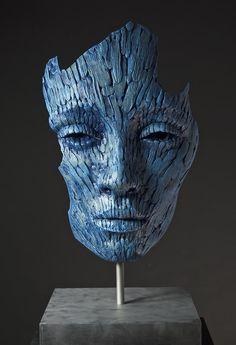 Lionel Smit: Cumulate Fragment, Bronze, 40cm high, 2014
