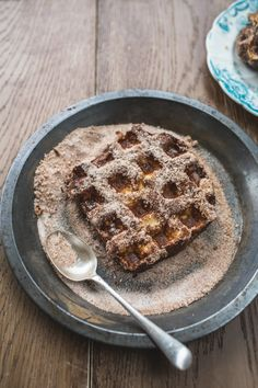 Waffled Brioche French Toast   This amazing brunch recipe starts w/ brioche dipped in cinnamon French toast batter & then thrown on the waffle maker. Perfect mash up of 2 of our fave dishes!