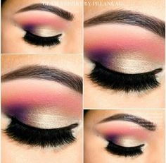 Perfect evening makeup