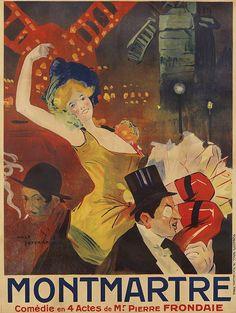 Vintage Advertising Posters, Vintage Travel Posters, Vintage Advertisements, Renaissance, Paris Painting, Art Nouveau Poster, France Art, Poster Prints, Art Prints