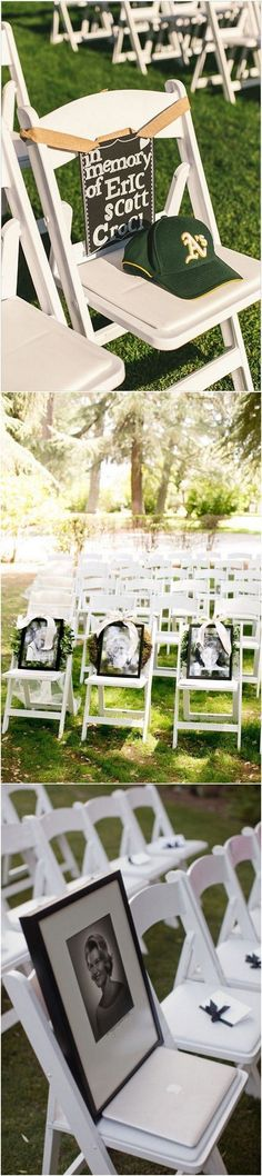 in memory of loved ones wedding ideas #weddinghacks #weddingideas