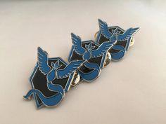 Pokemon Go Team Mystic Enamel Pins
