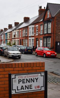 Penny Lane - Liverpool, England